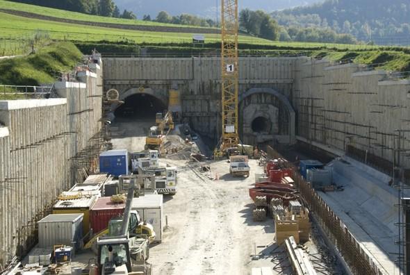 Fouille du portail Nord du tunnel de Choindez